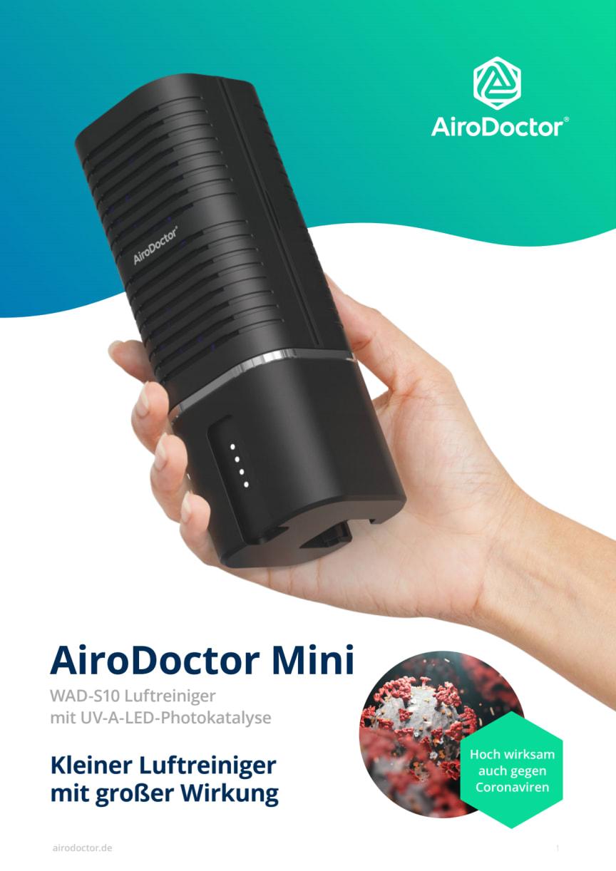 AiroDoctor Mini Broschüre DE