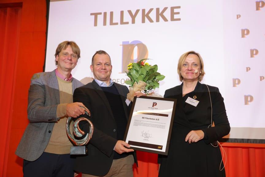 BB fiberbeton vinder CSR People Prize 2019