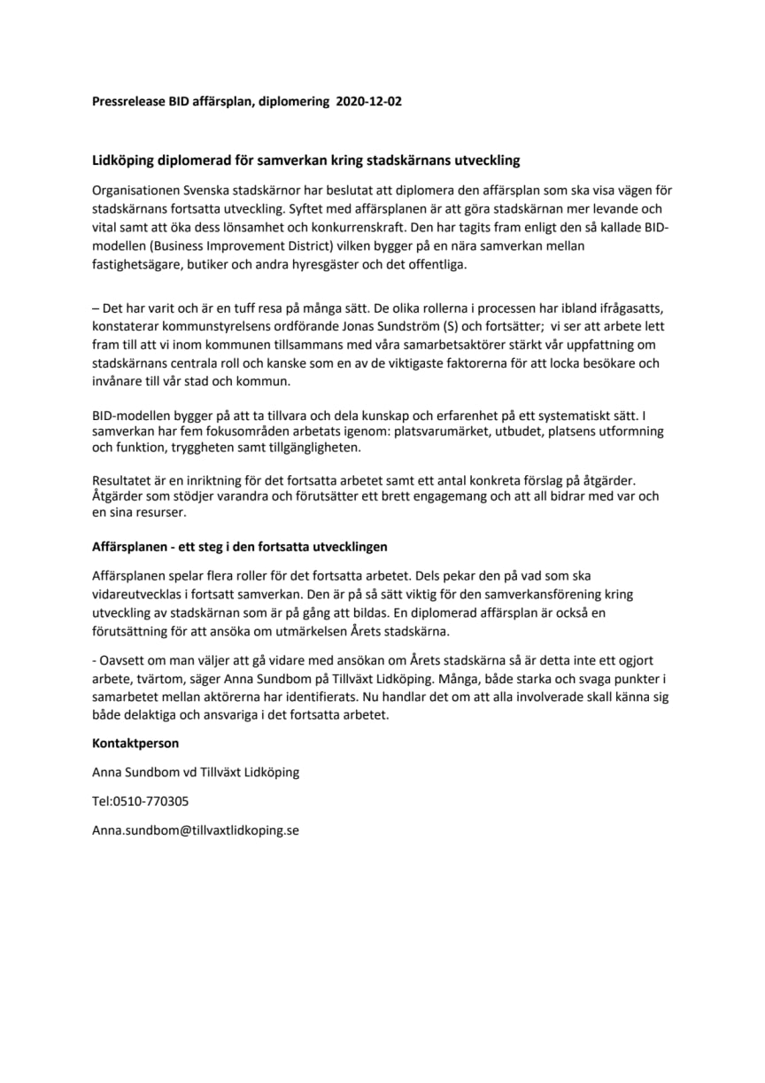 Pressrelease BID affärsplan.pdf