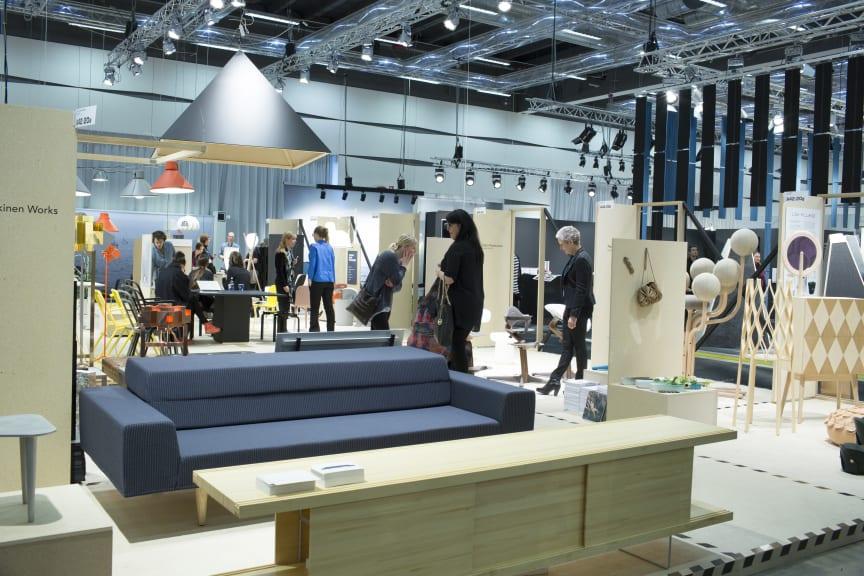 Området Twelve på Stockholm Furniture & Light Fair