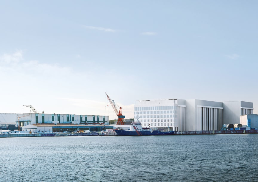 ZÜBLIN, Schiffbauhalle thyssenkrupp Marine Systems, Kiel
