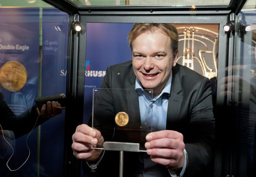 Svend Aavitsland med Double Eagle