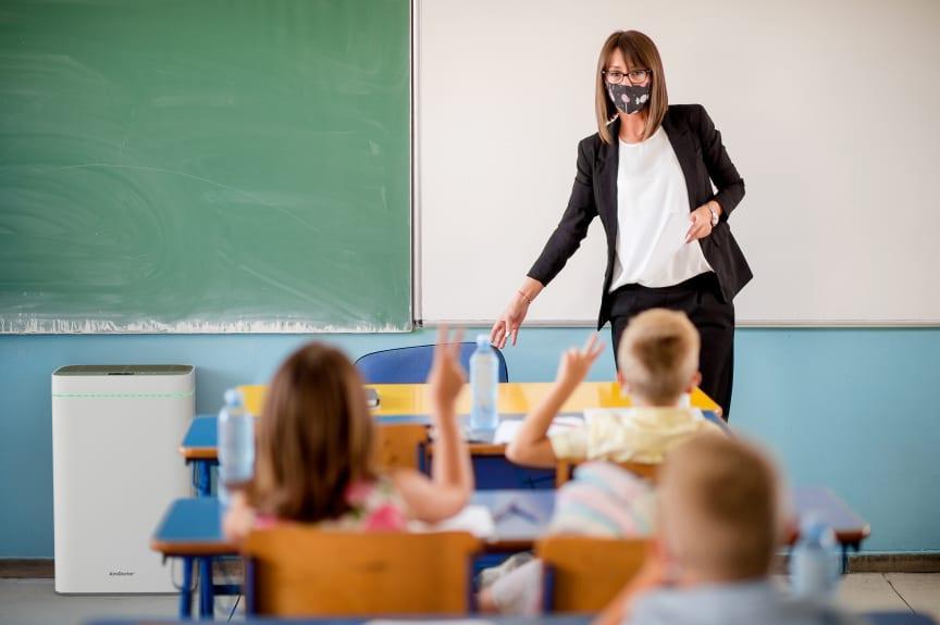 Luftreinigung in Schulen: Gefahrlos und effizient