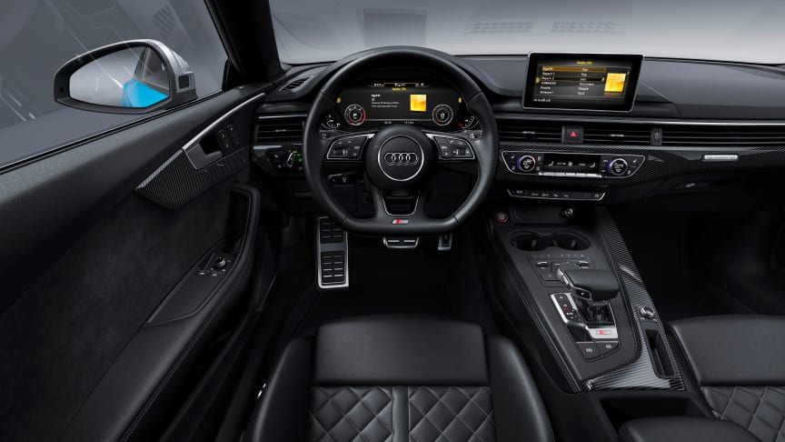 Audi S5 Coupé TDI (turboblå)