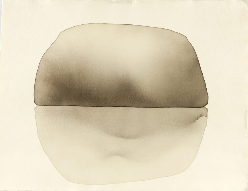 Mats Gustafson, Rock 7, 2003, akvarell på papper