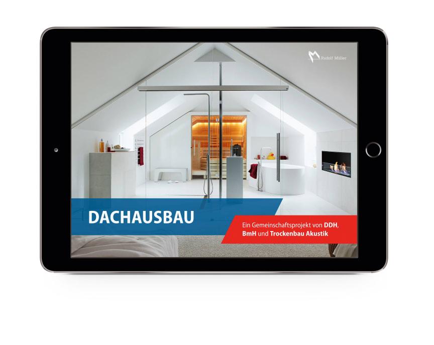 """Das eMagazine ist über die neue """"Trockenbau Akustik Digital""""-App kostenfrei verfügbar."""