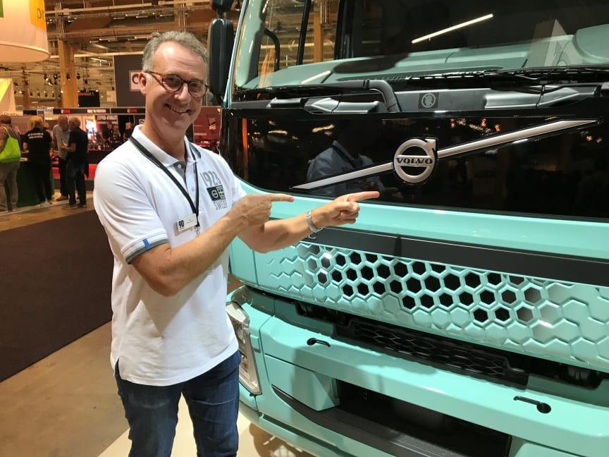 Jan Strandhede, PR-och informationsansvarig, Volvo Lastvagnar Sverige.