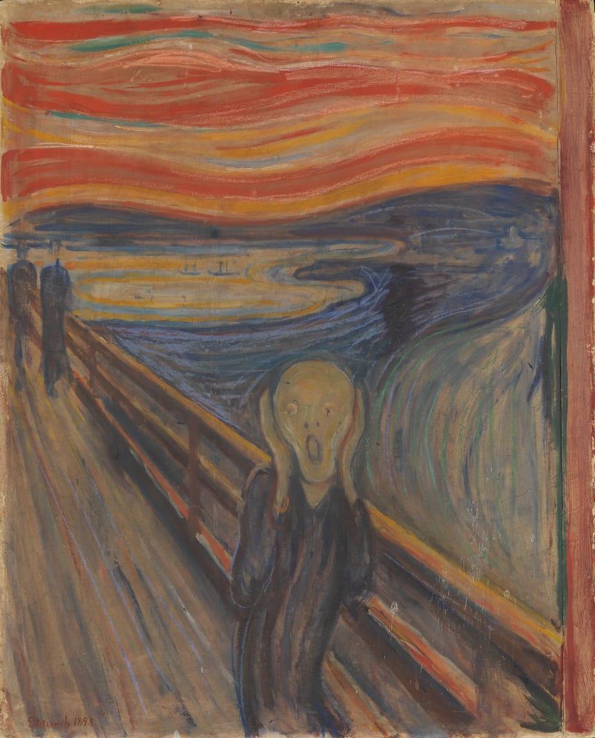 "Edvard Munch, ""The Scream"", 1893."