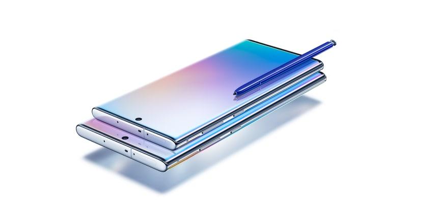 Samsung Galaxy Note10 och Note10+