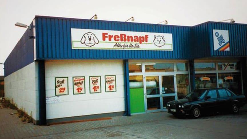 """Der erste """"Freßnapf""""-Markt 1990 in Erkelenz"""