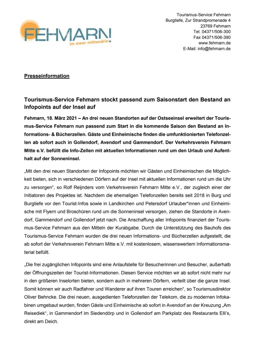 Presseinformation_Tourismus-Service Fehmarn_Infozellen.pdf