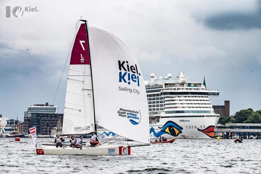 Sailing Champions League mitten im Herzen der Stadt (c)Lars Wehrmann SCL