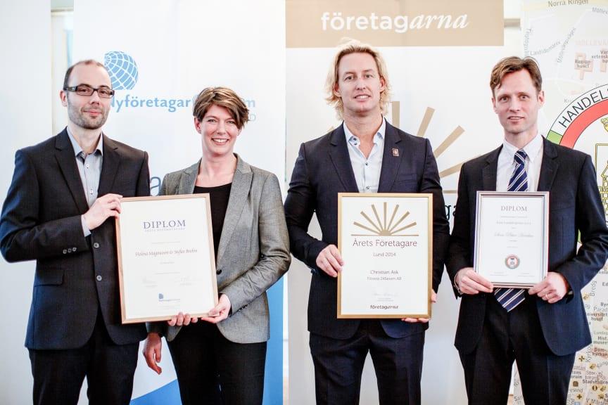 Årets näringslivspristagare Lund 2013