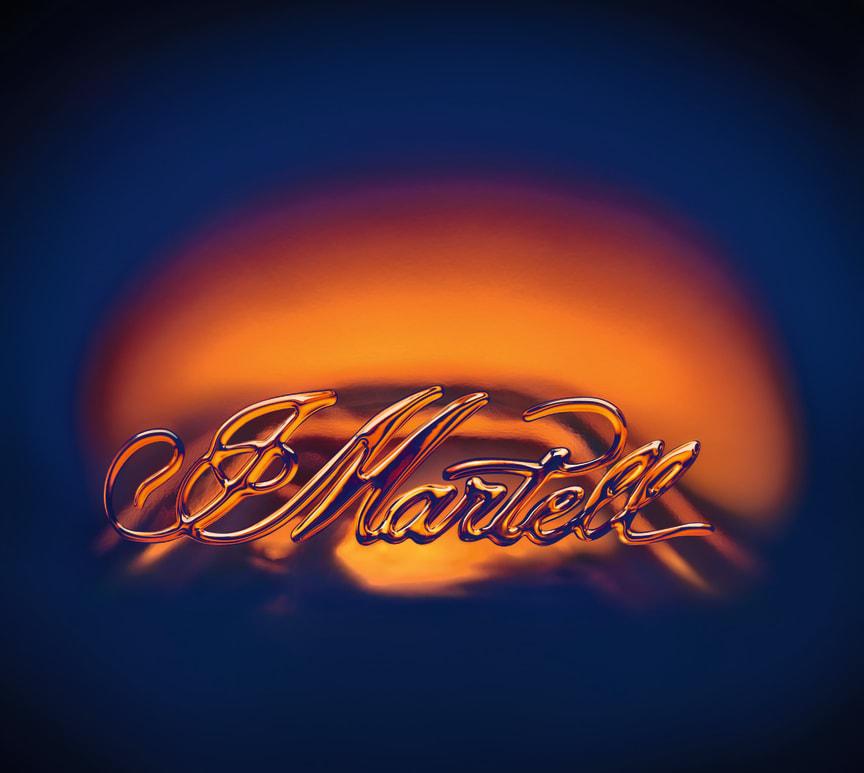 Martell glass signatur