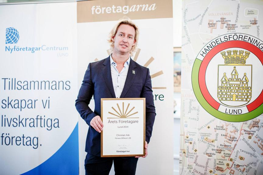 Årets Företagare i Lund 2013