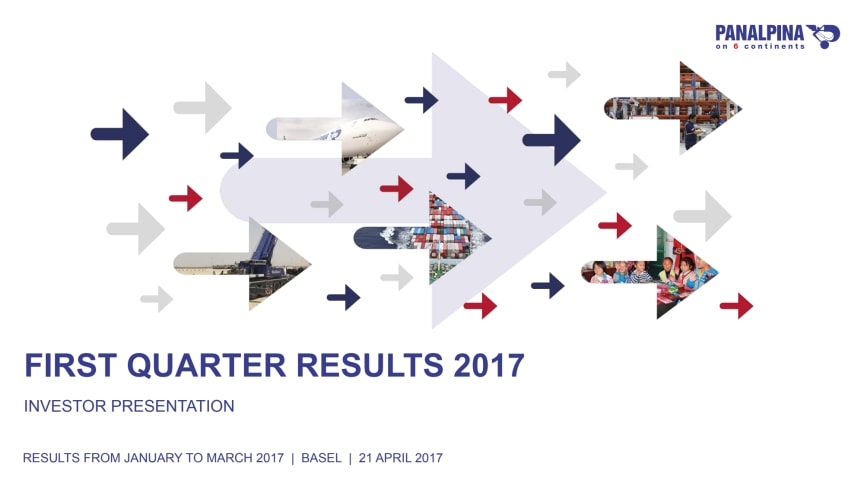 First Quarter Results 2017 – Investor Presentation