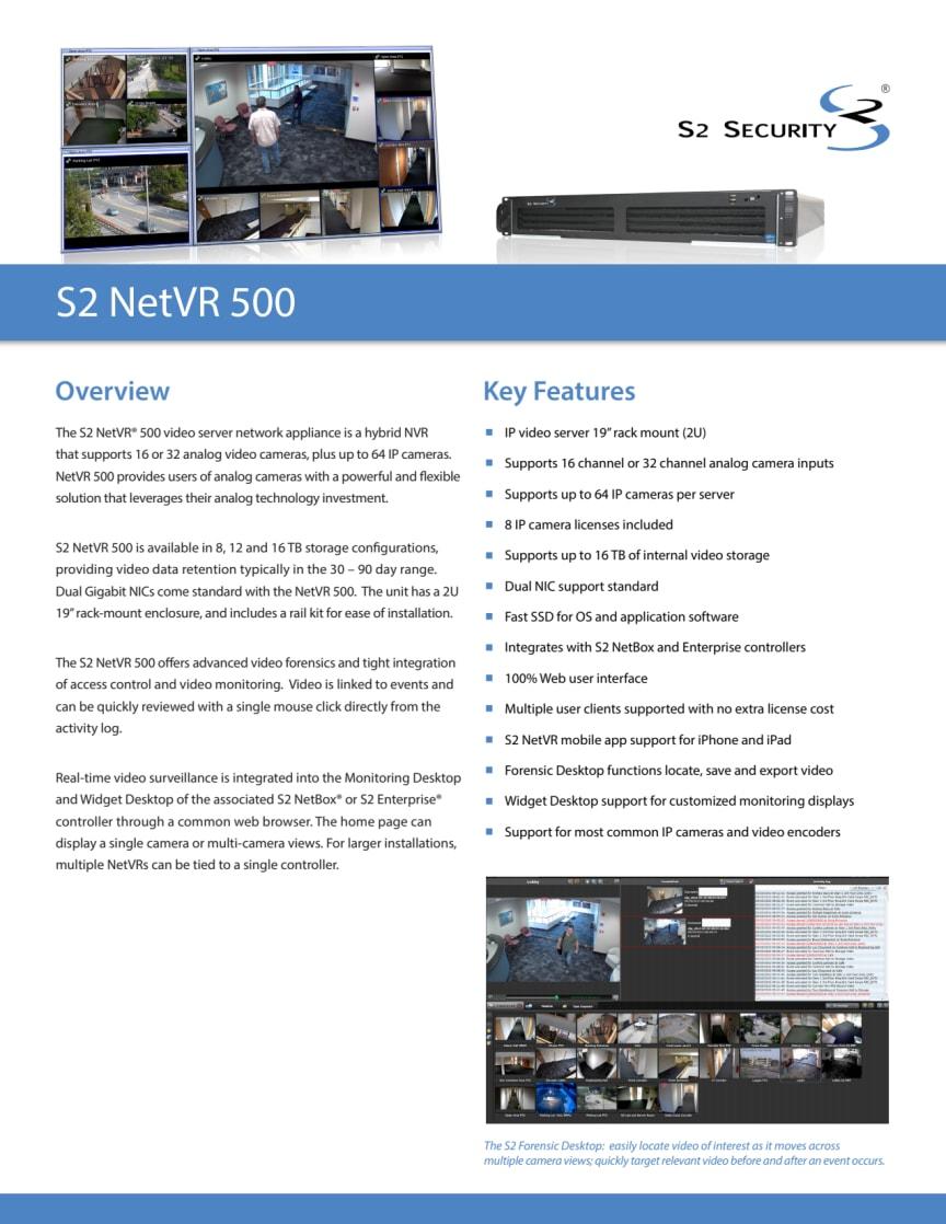 Passersystem från Gate Security - S2 NetVR 500
