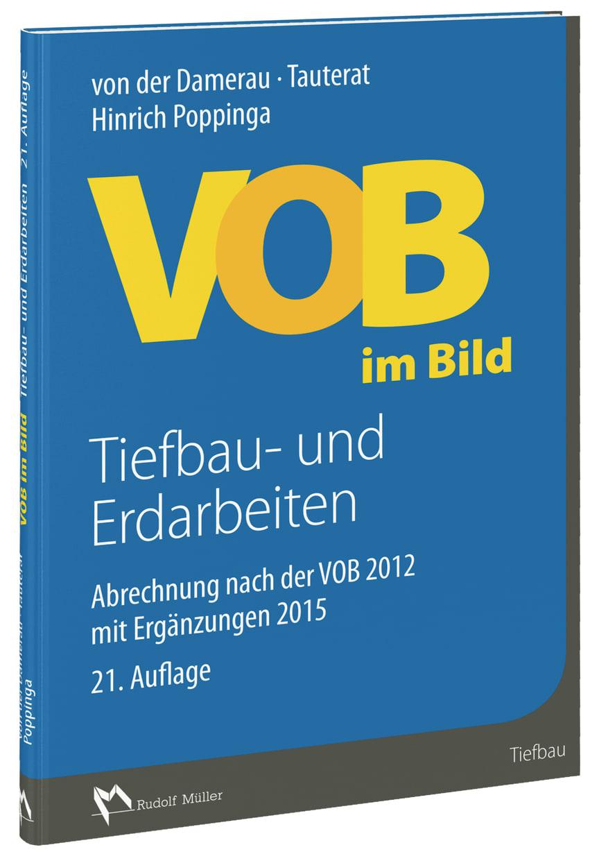 VOB im Bild – Tiefbau- und Erdarbeiten, 21. Auflage 3D (tif)