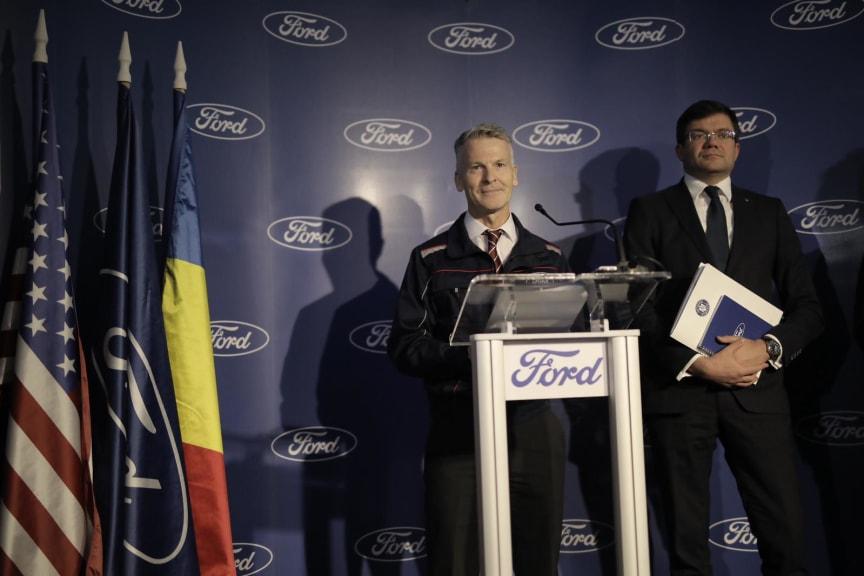 Vizita Premier Ludovic Orban@Craiova 1 - Ian Pearson - Președinte Ford România