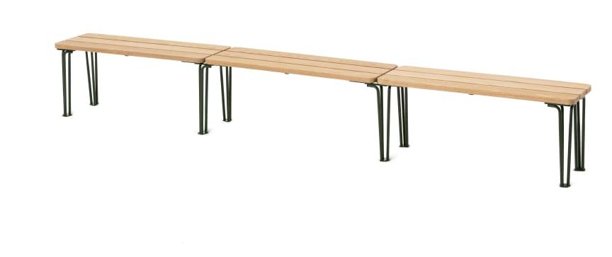 Gard bänk, design Odin Brange Sollie. Nyhet 2020.