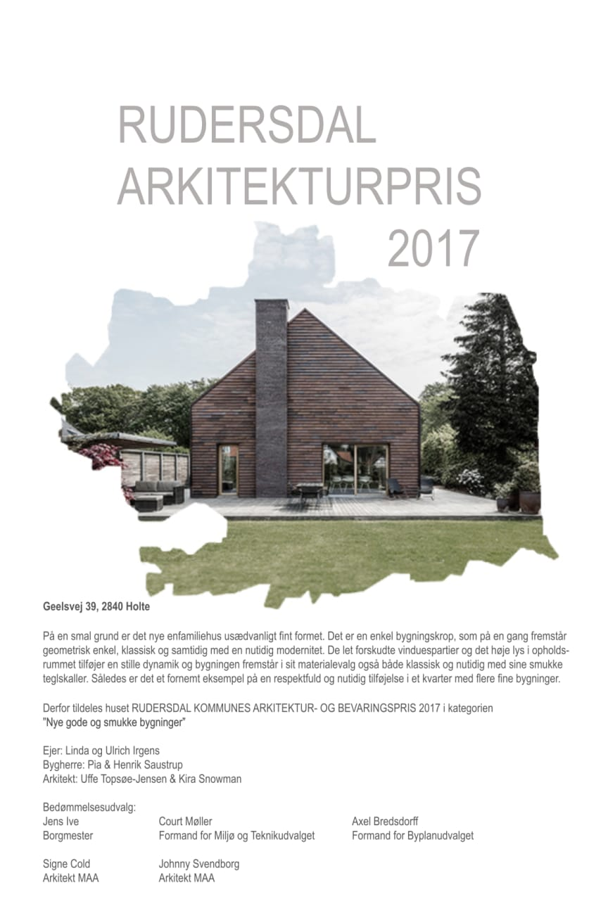 Diplom 2017, Geelsvej 39