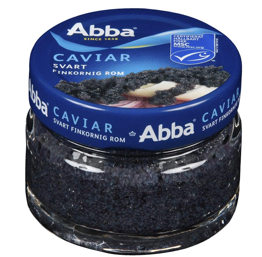 Abba Caviar (Svart finkornig rom)