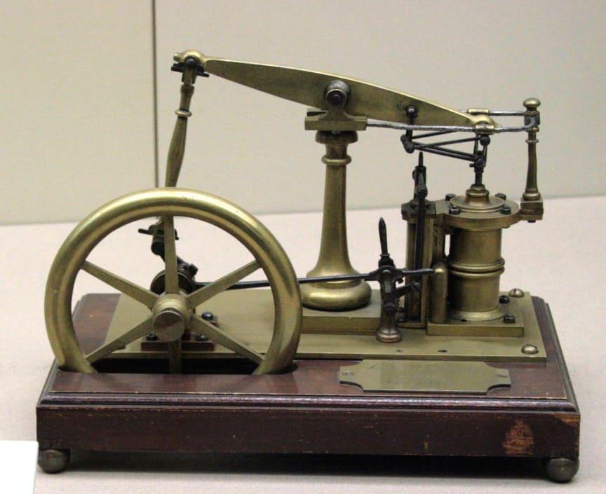 3. Wattsche Dampfmaschine