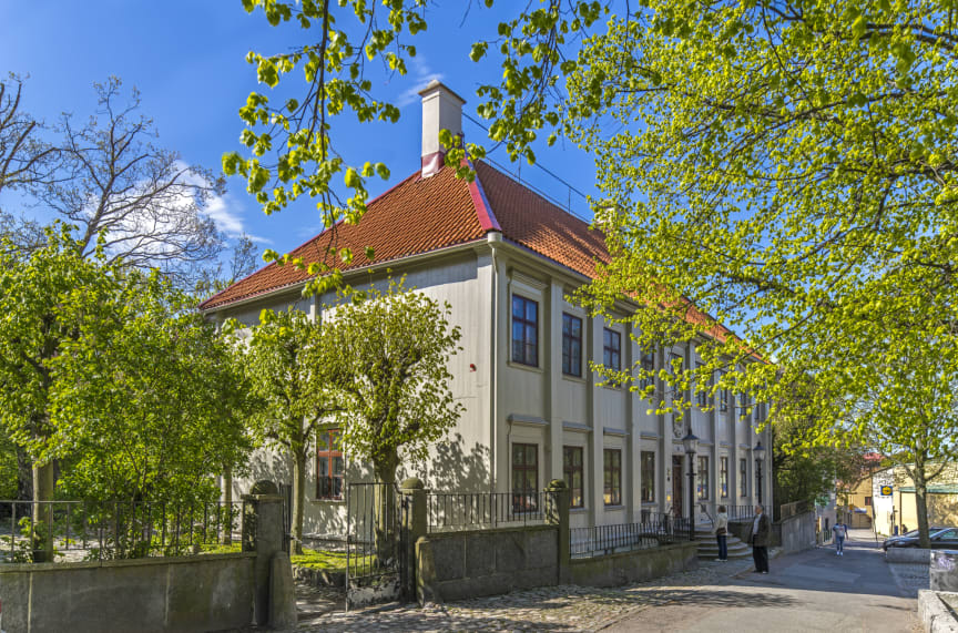 Gathenhielmska Huset och trädgården