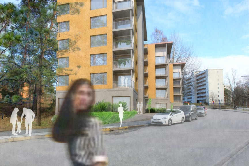 Riksbyggen Bonum seniorboende, Hässelby