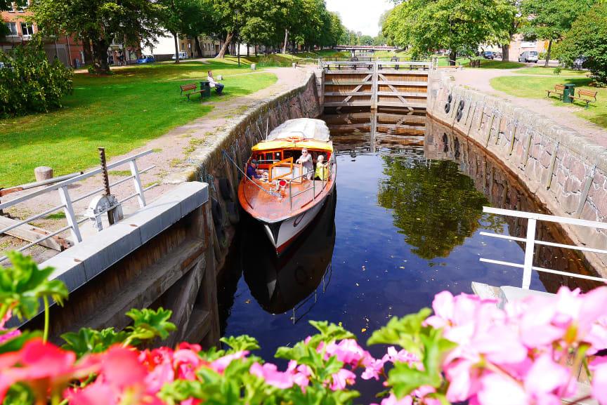 Båtbuss vid Slussen, Pråmkanalen