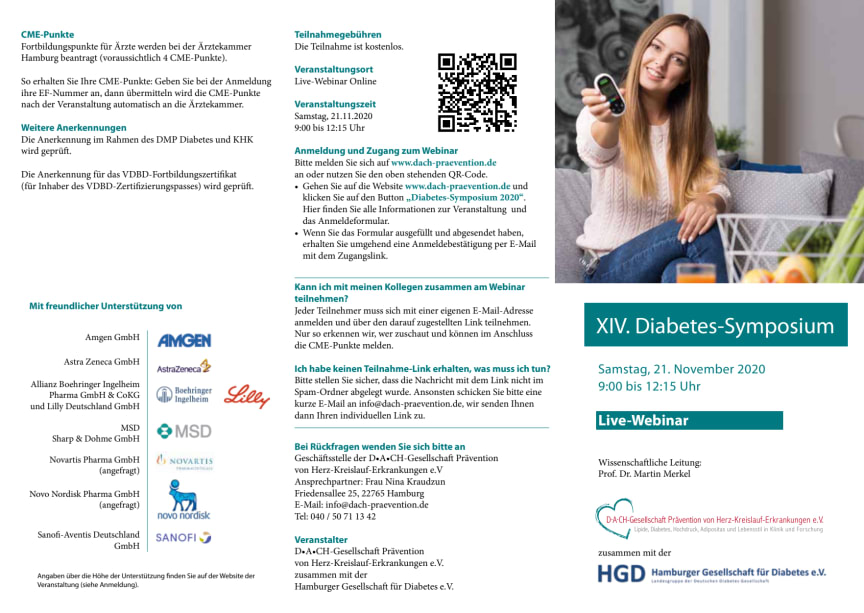 Flyer XIV. Diabetes-Symposium