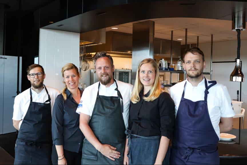 Per Boman, Ulrika Hed, Anders Samuelsson, Britta Agerhäll och Olof Håsteen.