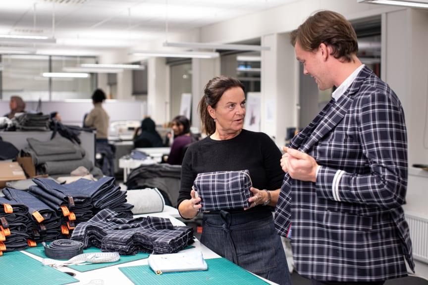 Norwegian tillverkar nya produkter av bolagets uniformer tillsammans med UNICEF
