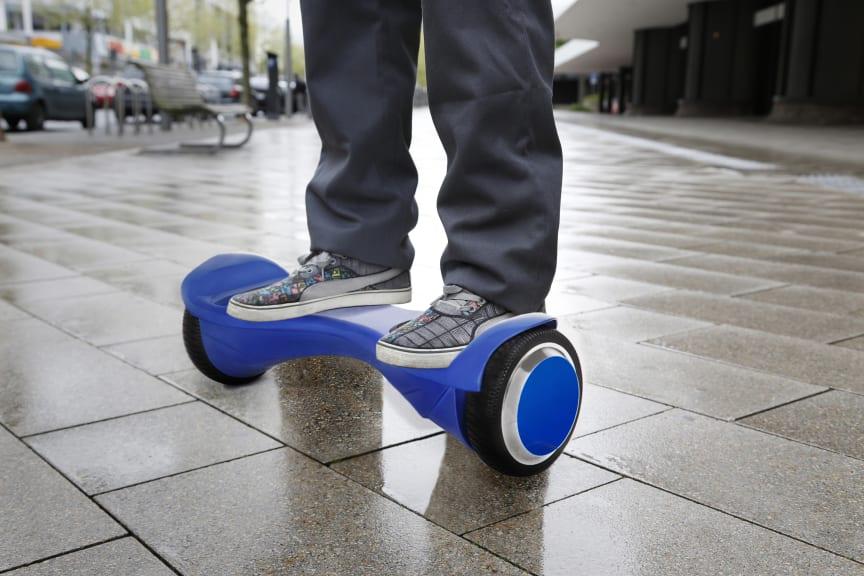 Hoverboard und Co. nicht für den Straßenverkehr zugelassen