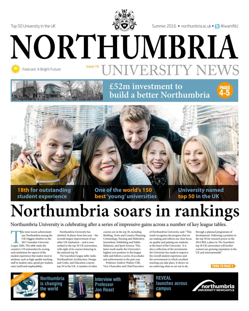 Northumbria University News Issue 10