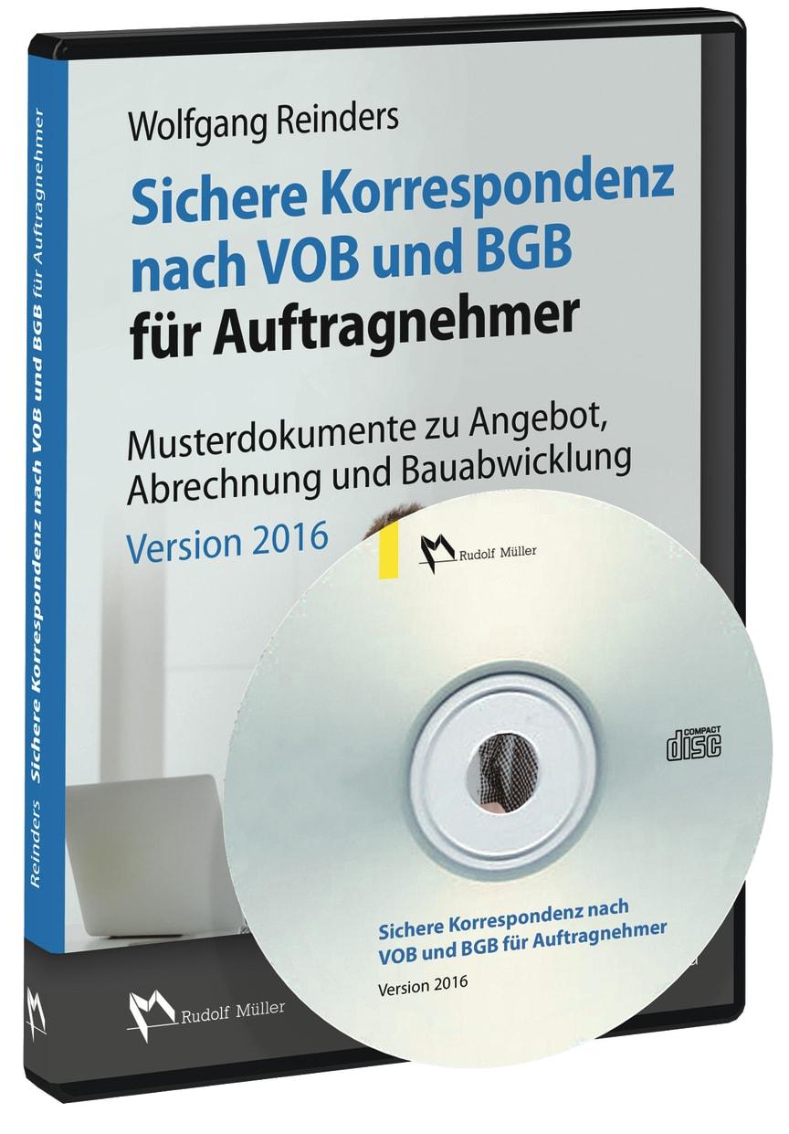 Sichere Korrespondenz nach VOB und BGB für Auftragnehmer 3D (tif)