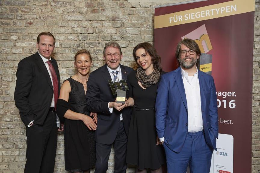 GAG Immobilien AG freut sich über den immobilienmanager Award 2016 in der Kategorie Kommunikation