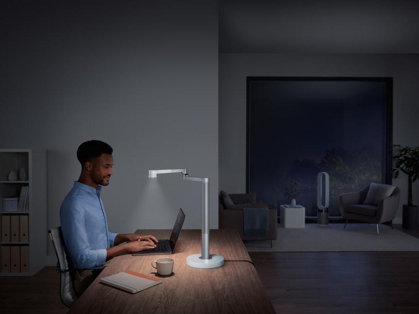 Dyson Lightcycle Morph lampe de bureau_blanc_ mode Étude
