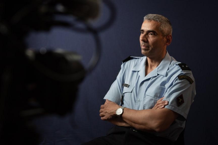 General Jean-Marie Gontier, leder af redningsaktion