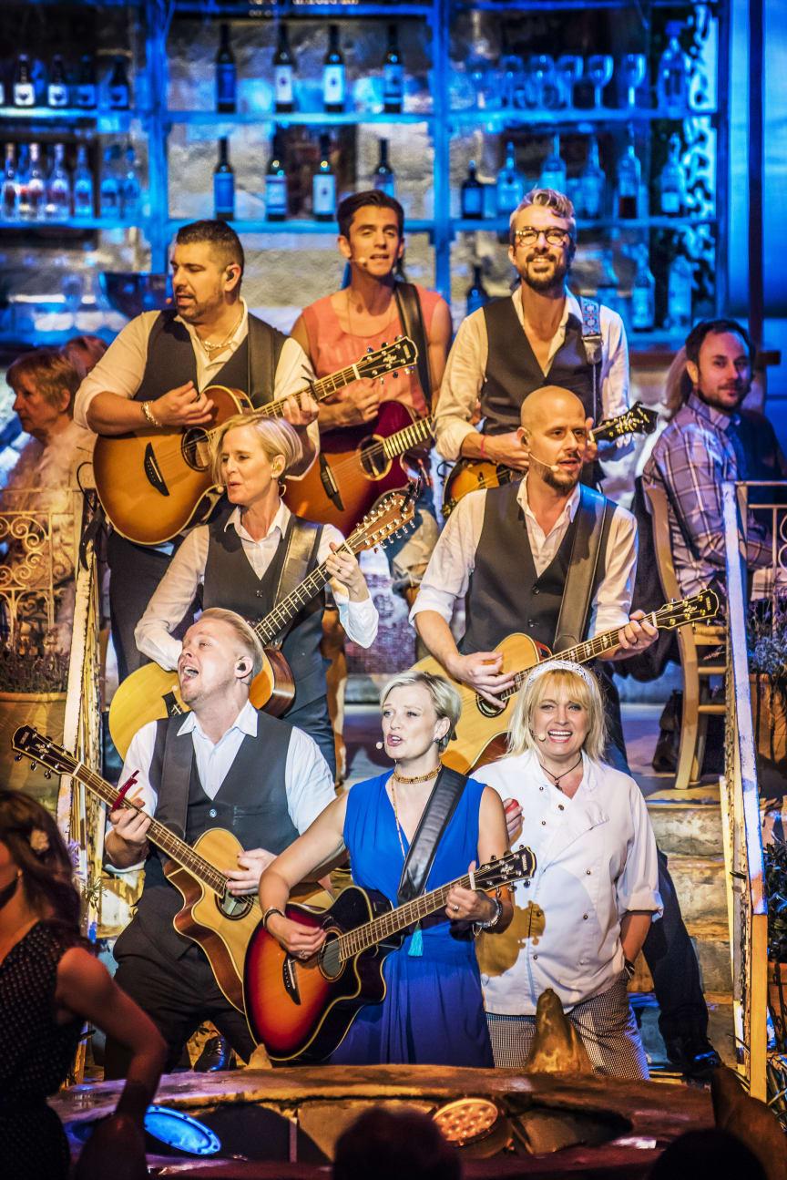 Mamma Mia! The Party har premiär på Rondo 28 augusti 2020