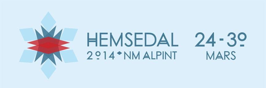 NM alpint Hemsedal 24-30 mars 2014 logo