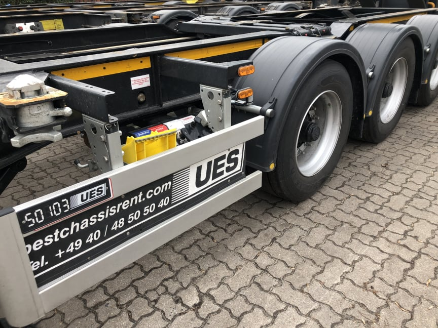 The BPW CargoTracer reliably relocates chassis