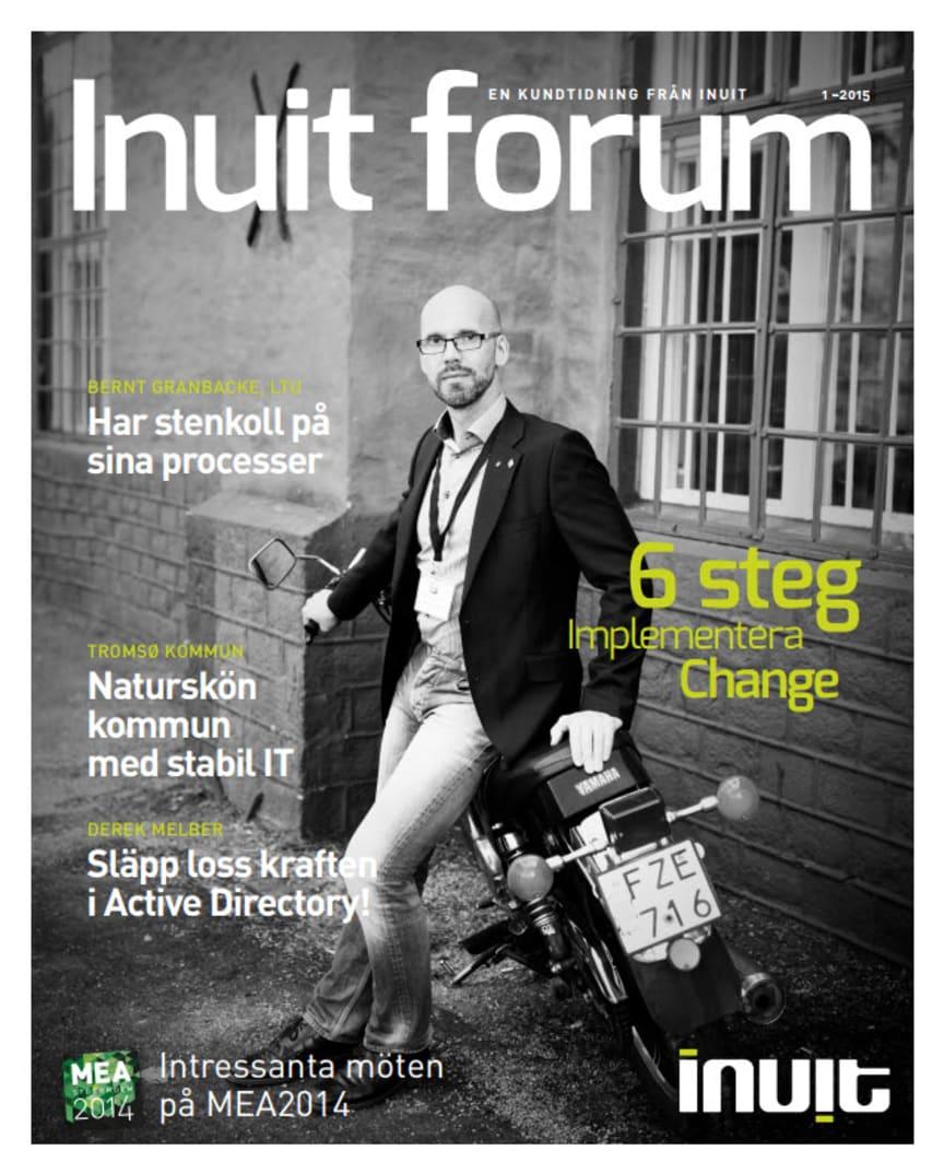 Ny kundtidning: Inuit forum 2015