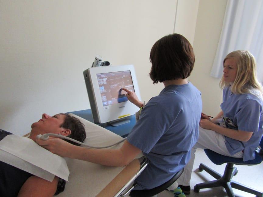Vipviza ultraljud hals
