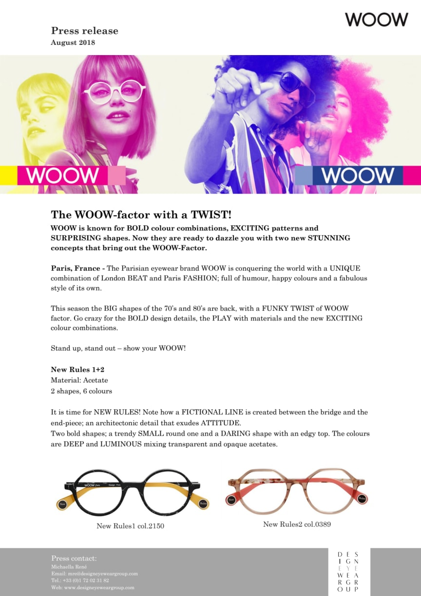 The WOOW-factor with a TWIST!