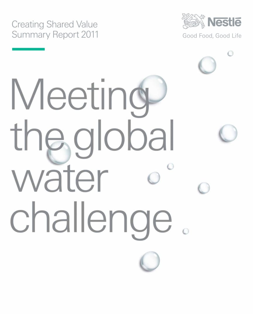 Nestlé CSV Summary Report 2011