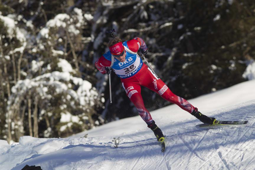 Tarjei Bø, verdenscup Anterselva, sesongen 2015-2016