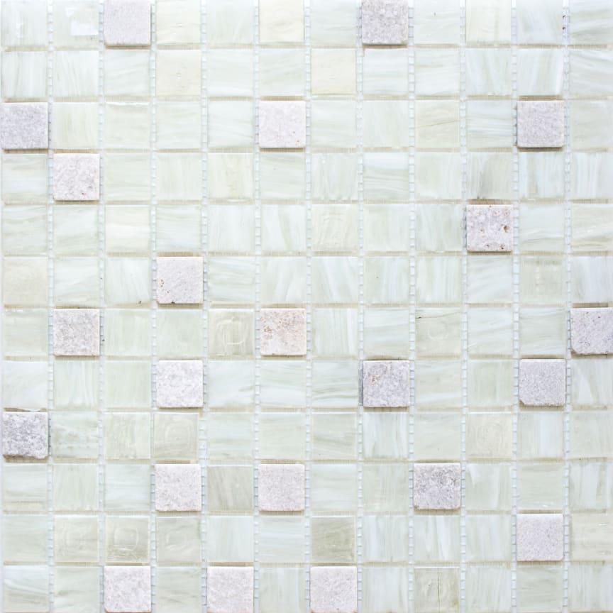 Mosaik Eventyr Paradisets Have Hvid 30x30, 1.198 kr. M2.