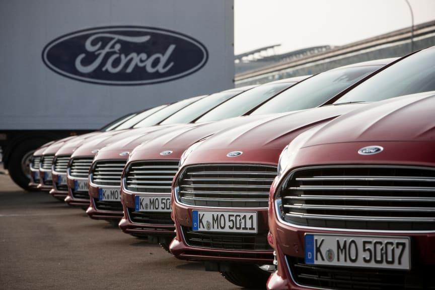 Nye Ford Mondeo, den mest avanserte bilen Ford noensinne har lansert i Europa