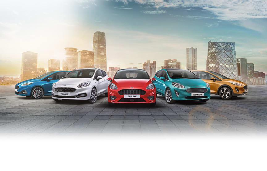 Ny Fiesta lineup